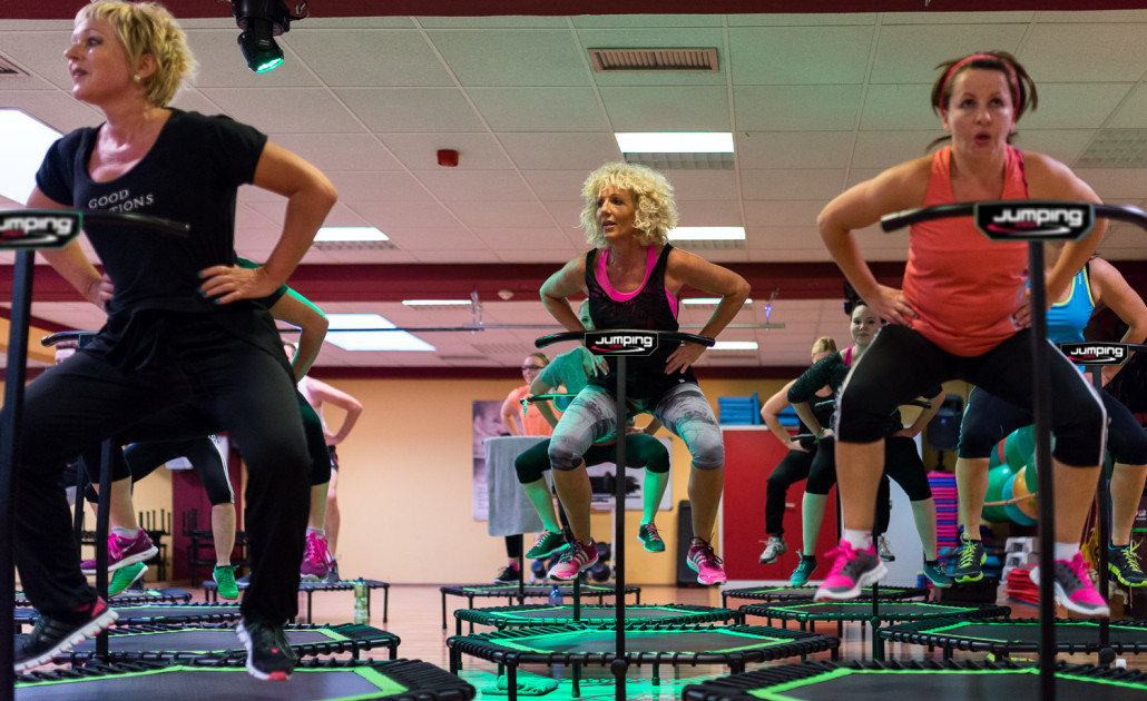 Jumping Fitness im FACT Fitness Pocking