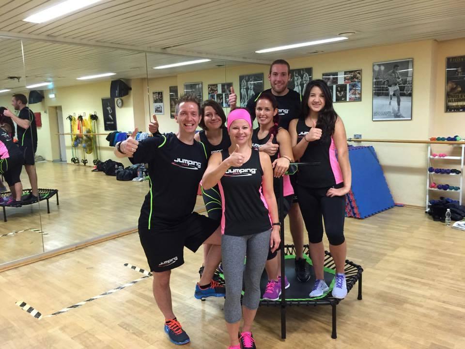 JumpingFitness-Trainerausbildung München mit Florian Beham