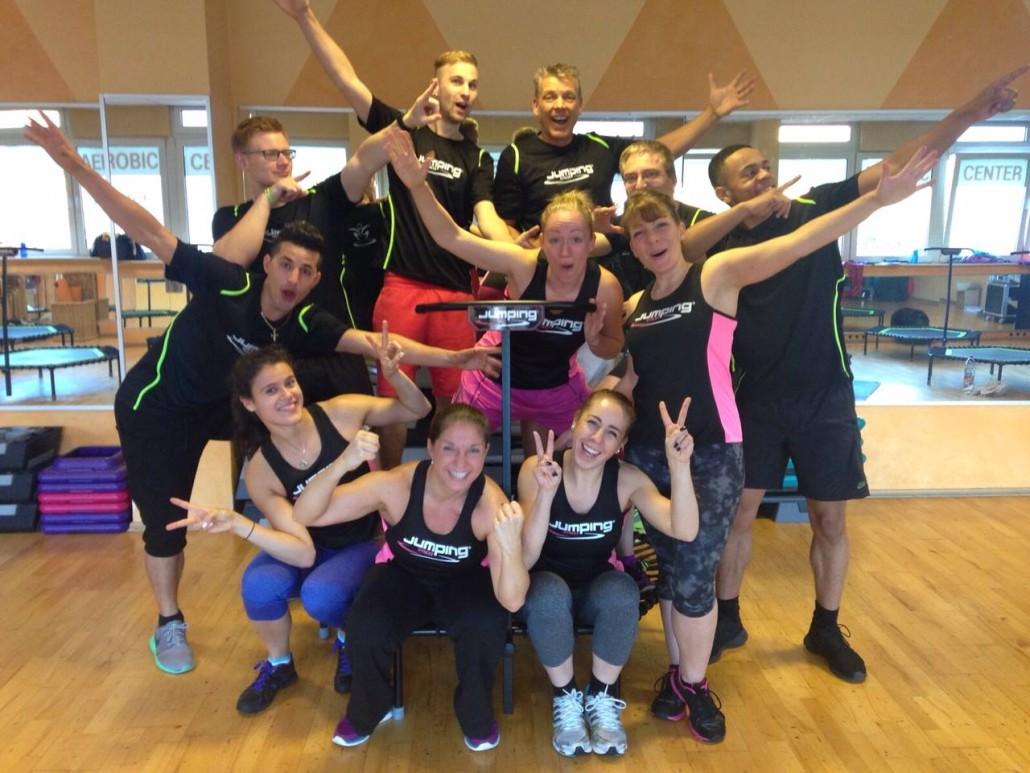 JumpingFitness-Trainerausbildung Berlin mit Julia Legowska