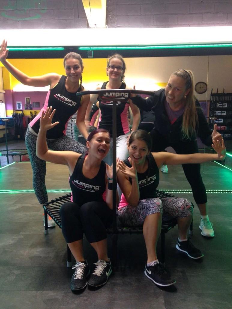 JumpingFitness-Trainerausbildung Senden mit Julia Legowska