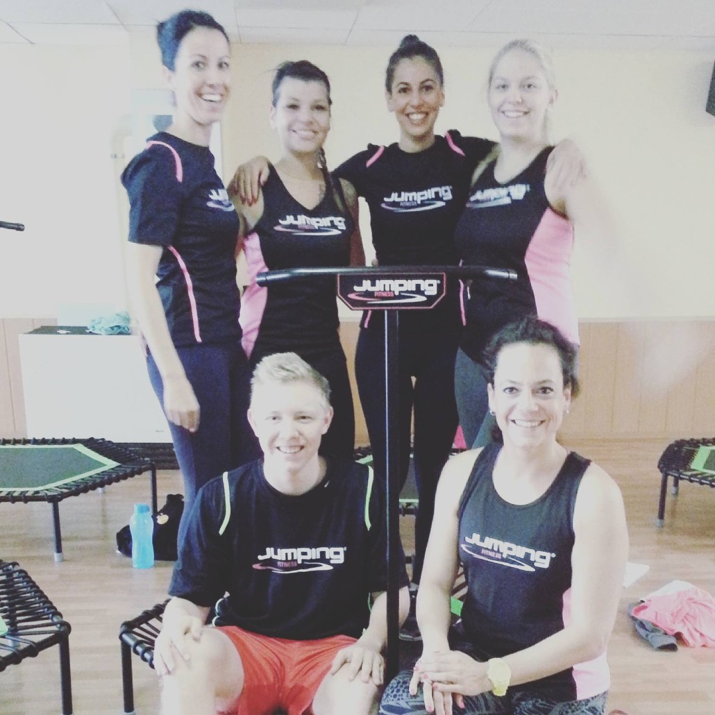 JumpingFitness-Trainerausbildung Hüfingen mit Antonia Westphal