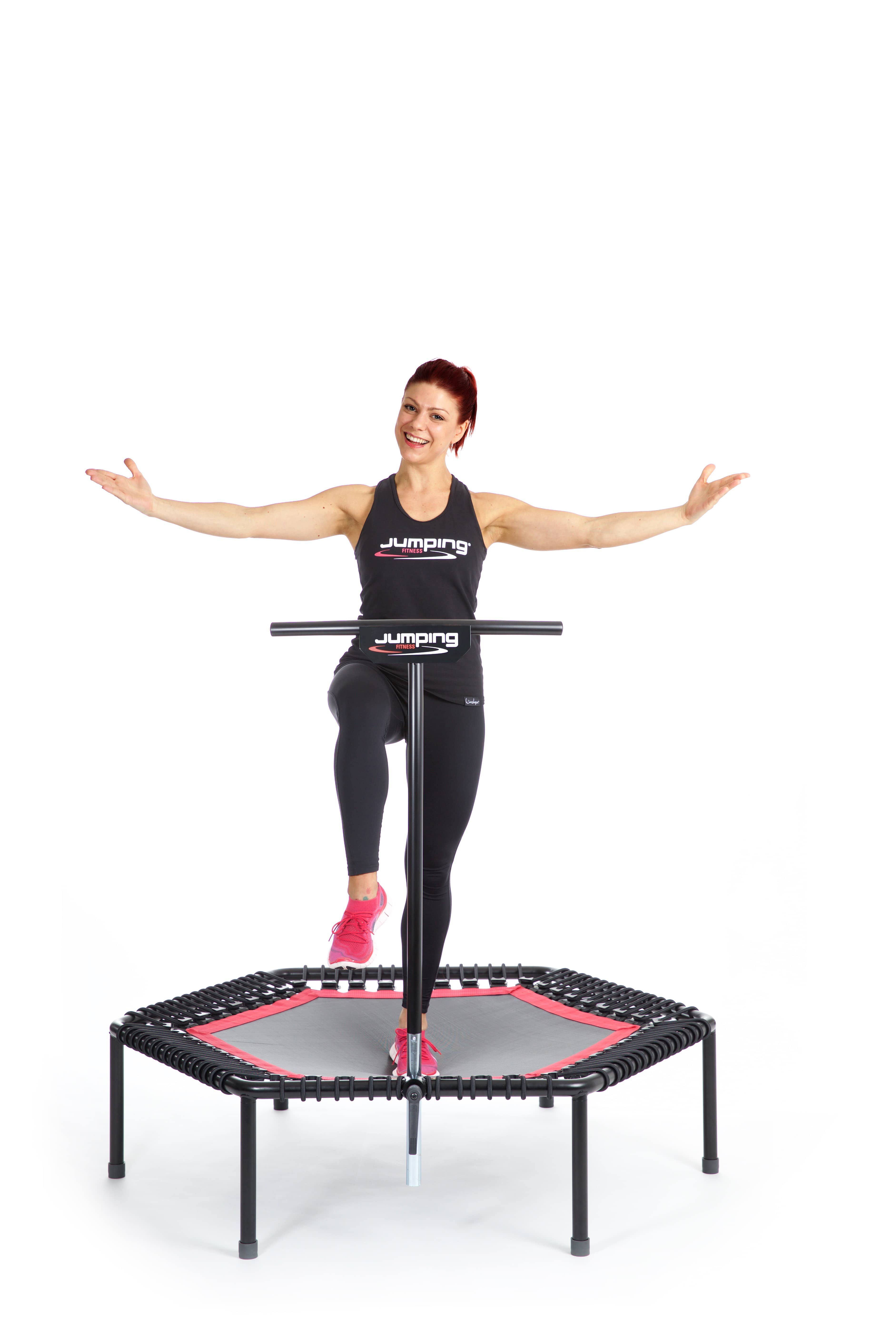 jumping fitness das original trampolin workout. Black Bedroom Furniture Sets. Home Design Ideas