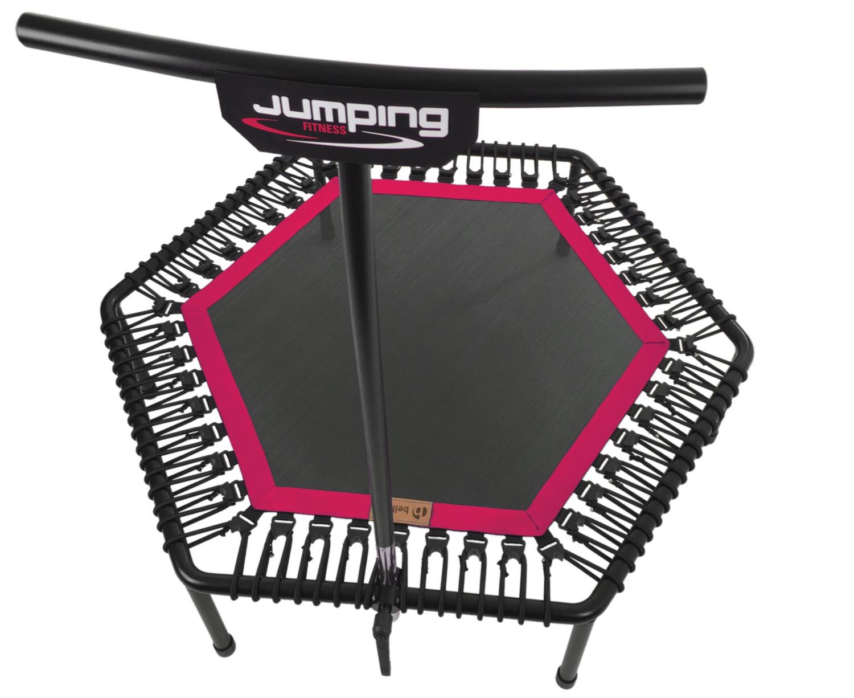 Trampolin pink
