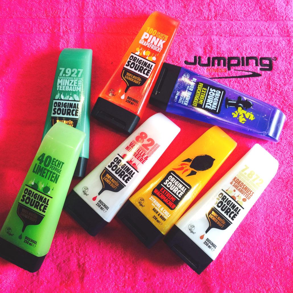 Original Source sponsort Jumping Fitness