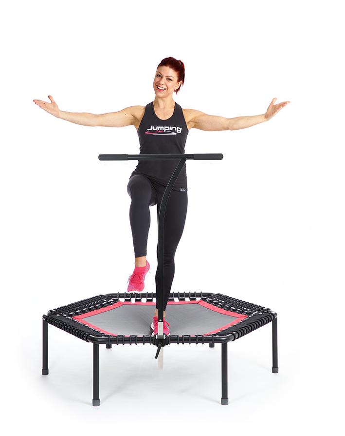 jumping fitness international das original trampolin. Black Bedroom Furniture Sets. Home Design Ideas